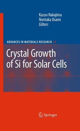Abbildung von Nakajima / Usami   Crystal Growth of Silicon for Solar Cells   2009   14