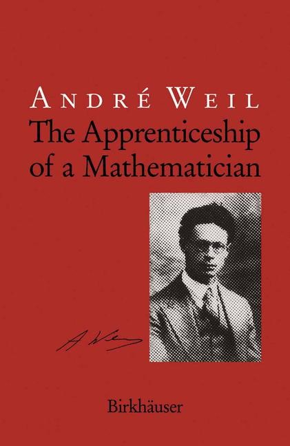 Abbildung von Weil | The Apprenticeship of a Mathematician | 1991