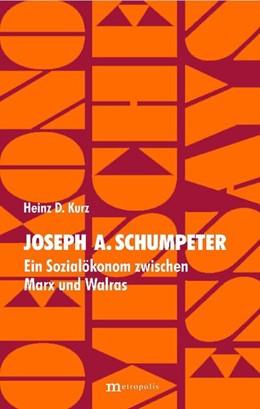 Abbildung von Kurz | Joseph A. Schumpeter | 2005