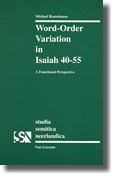 Abbildung von Rosenbaum | Word-order Variation in Isaiah 40-55 | 1997
