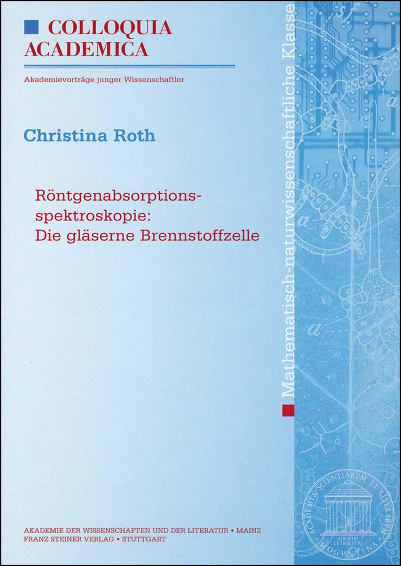 Abbildung von Roth | Röntgenabsorptionsspektroskopie | 2008