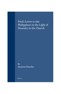 Abbildung von Peterlin | Paul's Letter to the Philippians in the Light of Disunity in the Church | 1995 | 79