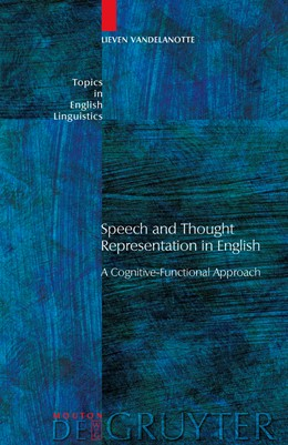 Abbildung von Vandelanotte   Speech and Thought Representation in English   2009
