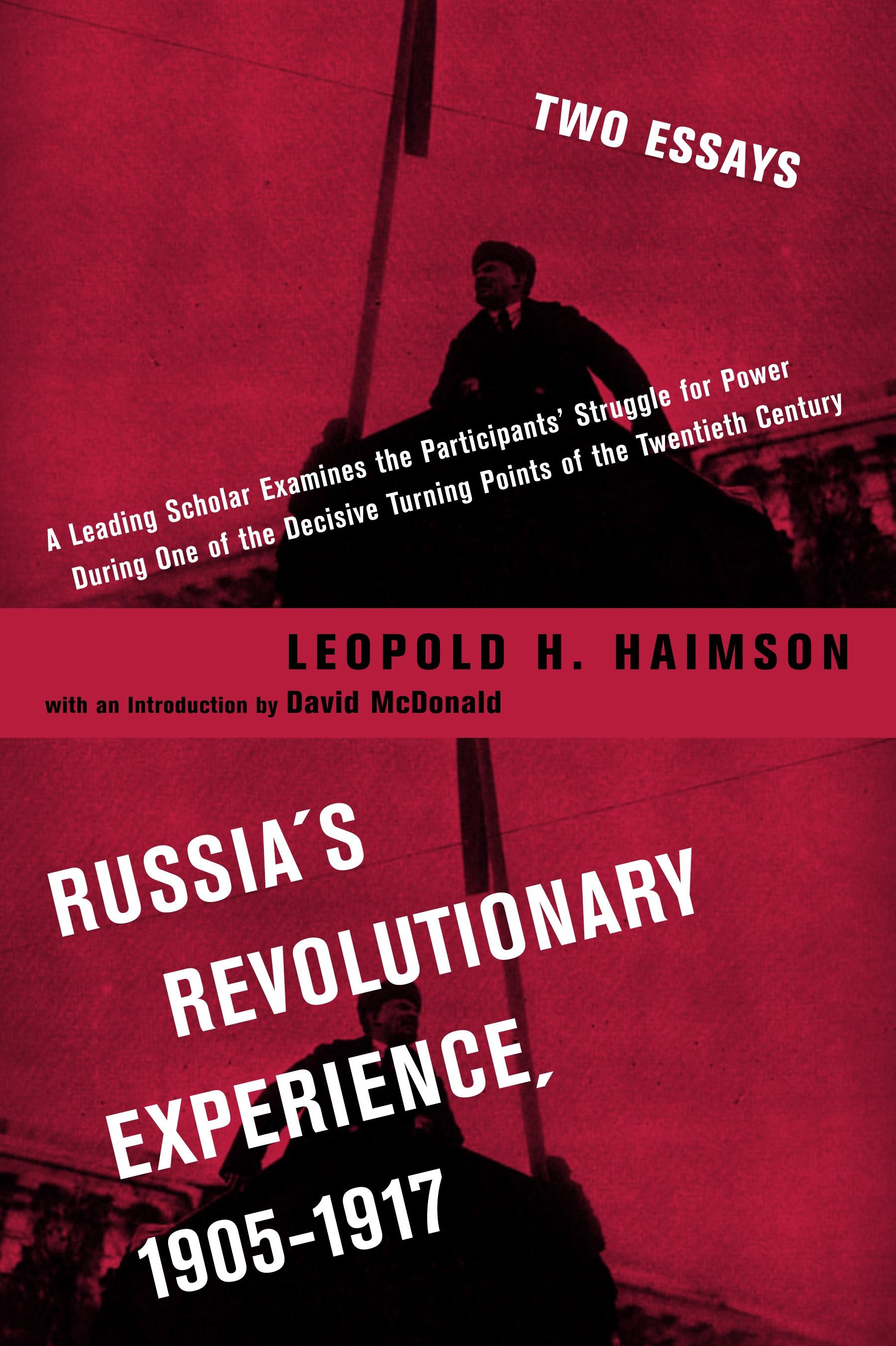 Abbildung von Haimson | Russia's Revolutionary Experience, 1905-1917 | 2005