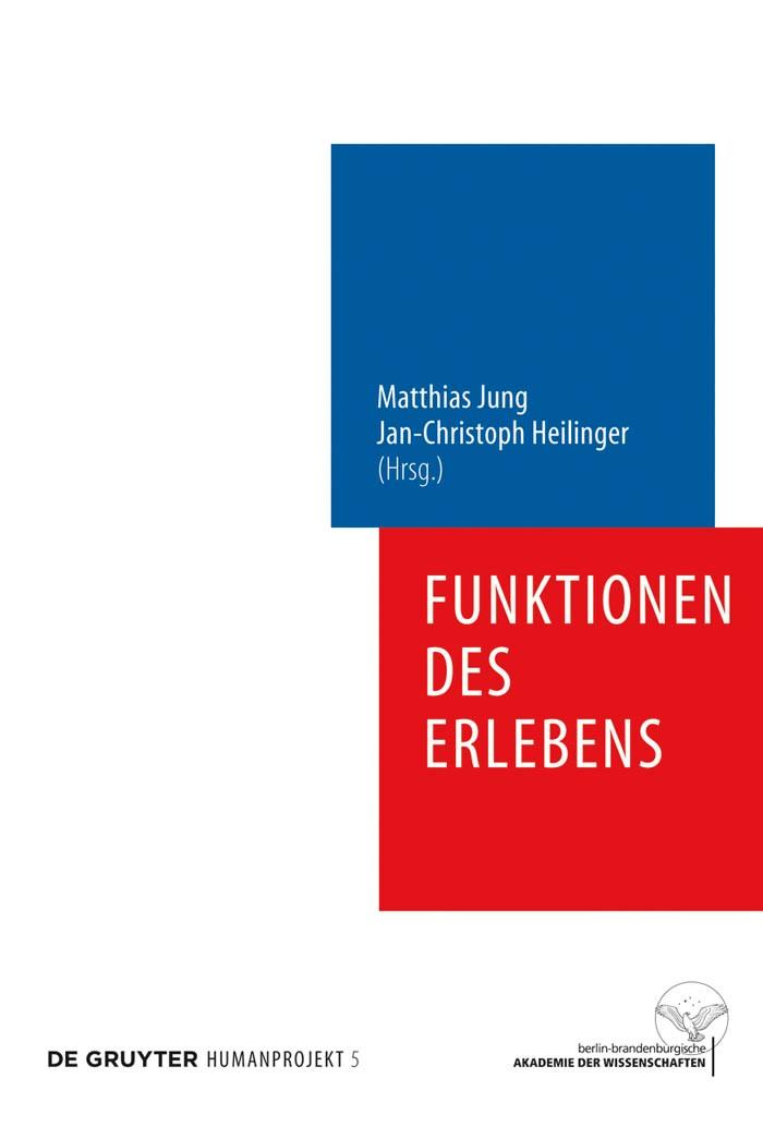 Abbildung von Jung / Heilinger | Funktionen des Erlebens | 2009