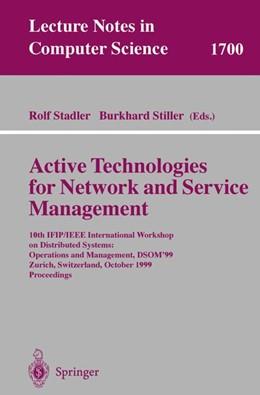 Abbildung von Stadler / Stiller | Active Technologies for Network and Service Management | 1999 | 10th IFIP/IEEE International W... | 1700