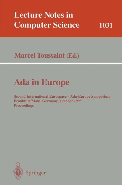 Abbildung von Toussaint | Ada in Europe | 1996