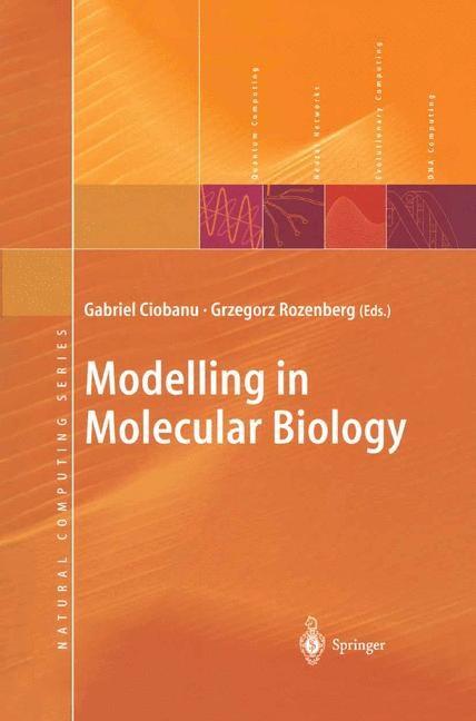 Abbildung von Ciobanu / Rozenberg | Modelling in Molecular Biology | 2004