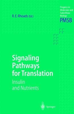 Abbildung von Rhoads | Signaling Pathways for Translation | 2001 | Insulin and Nutrients | 26