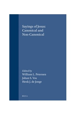 Abbildung von Petersen / Vos / Jonge | Sayings of Jesus: Canonical and Non-Canonical | 1997 | Essays in Honour of Tjitze Baa... | 89
