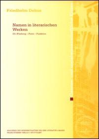 Abbildung von Debus | Namen in literarischen Werken | 2002