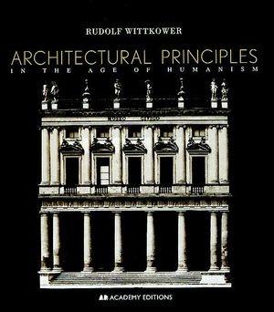 Abbildung von Wittkower | Architectural Principles | 5. Auflage | 1998