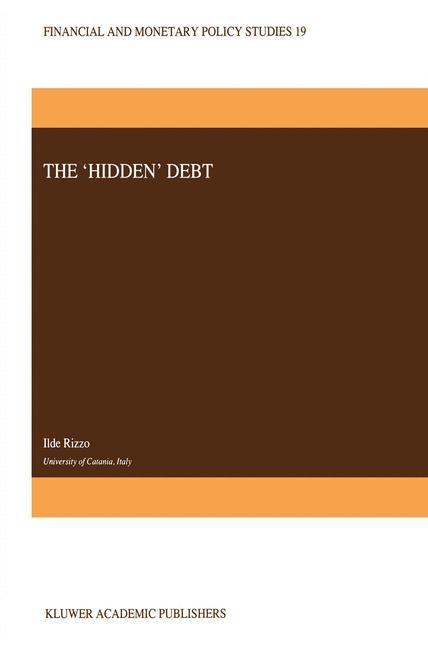 Abbildung von Rizzo | The 'Hidden' Debt | 1990