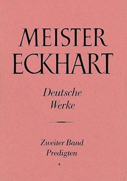Abbildung von Quint | Meister Eckhart. Deutsche Werke Band 2: Predigten | Unveränderter Nachdruck der Originalausgabe 1971 | 1988 | Herausgegeben und übersetzt vo...