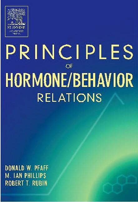 Abbildung von Pfaff / Phillips | Principles of Hormone/Behavior Relations | 2004