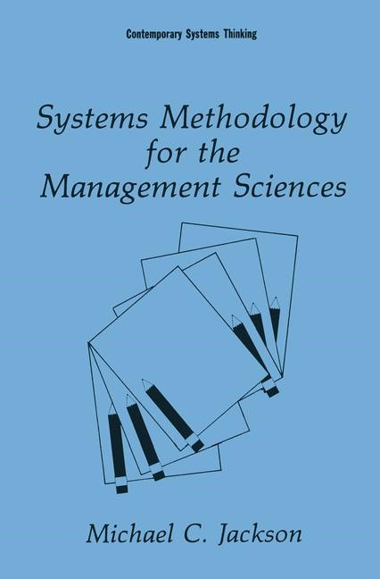 Abbildung von Jackson | Systems Methodology for the Management Sciences | 1992