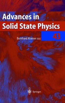 Abbildung von Kramer | Advances in Solid State Physics | 2003 | 43