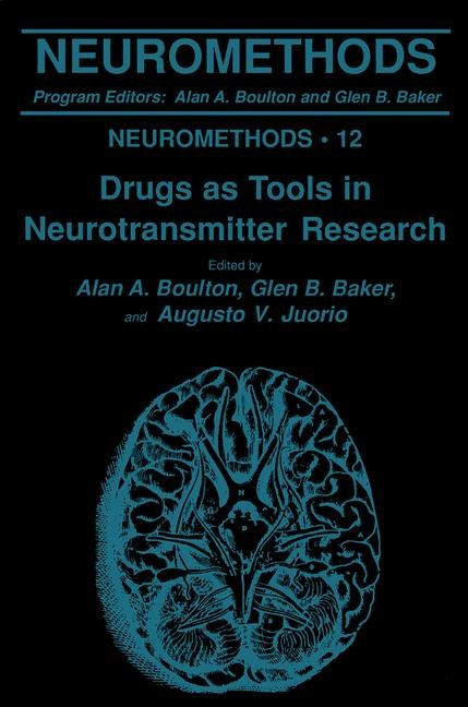 Drugs as Tools in Neurotransmitter Research | Boulton / Baker / Juorio, 1989 | Buch (Cover)