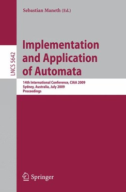 Abbildung von Maneth   Implementation and Application of Automata   2009   14th International Conference,...