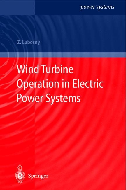 Abbildung von Lubosny | Wind Turbine Operation in Electric Power Systems | 2003