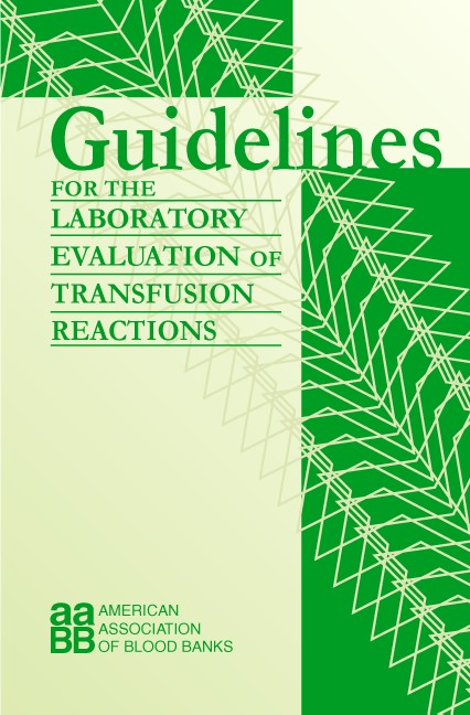 Abbildung von Davenport | Guidelines for the Laboratory Evaluation of Transfusion Reactions | 2003
