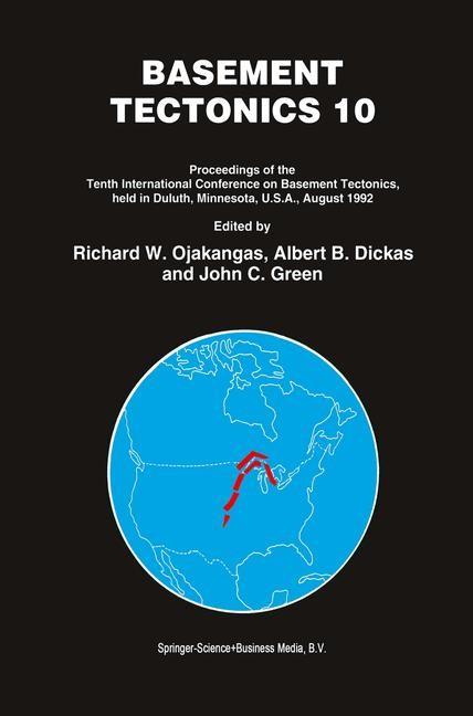 Basement Tectonics 10   Ojakangas / Dickas / Green, 1995   Buch (Cover)