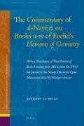 Abbildung von Lo Bello | The Commentary of al-Nayrizi on Books II-IV of Euclid's Elements of Geometry | 2009