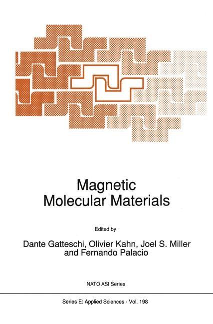 Abbildung von Gatteschi / Kahn / Miller / Palacio | Magnetic Molecular Materials | 1991