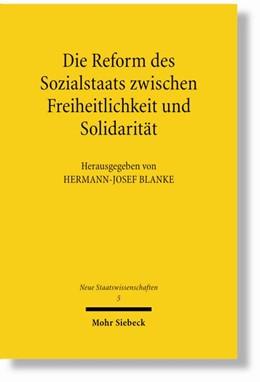 Abbildung von Blanke | Die Reform des Sozialstaates zwischen Freiheitlichkeit und Solidarität | 1., Aufl. | 2007 | 5