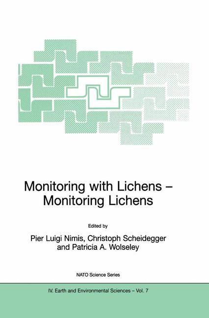 Abbildung von Nimis / Scheidegger / Wolseley | Monitoring with Lichens - Monitoring Lichens | 2002