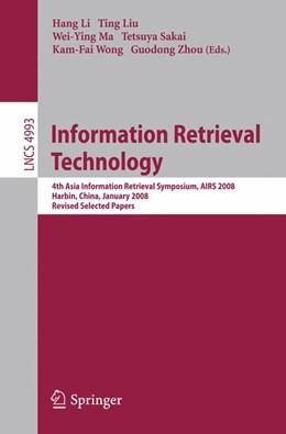 Abbildung von Li / Liu / Ma / Sakai / Wong / Zhou   Information Retrieval Technology   2008   4th Asia Information Retrieval...