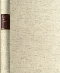 Abbildung von Anthony Ashley Cooper, Third Earl of Shaftesbury: Standard Edition / Reihe II. Moral and Political Philosophy. Band 3: Des Maizeaux' French translation of parts of ›An Inquiry concerning Virtue‹ u.a. | 1998