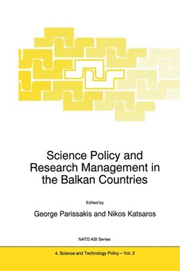 Abbildung von Parissakis / Katsaros | Science Policy and Research Management in the Balkan Countries | 1995 | 2