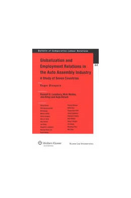 Abbildung von Blanpain / Lansbury | Globalization and Employment Relations in the Auto Assembly Industry | 2008 | A Study of Seven Countries | 64