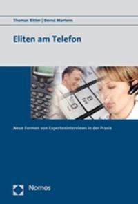 Abbildung von Martens / Ritter   Eliten am Telefon   2008