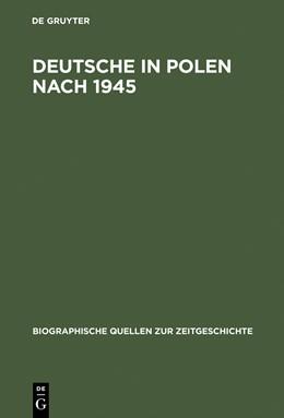 Abbildung von Bingen | Deutsche in Polen nach 1945 | Reprint 2015 | 1997 | Gefangene und Fremde | 19