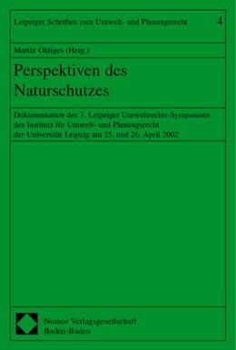 Abbildung von Oldiges | Perspektiven des Naturschutzes | 2003 | Dokumentation des 7. Leipziger... | 4