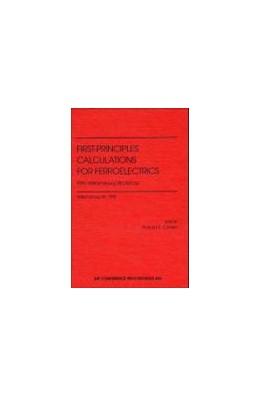Abbildung von Cohen | First-Principles Calculations for Ferroelectrics | 1998 | Fifth Williamsburg Workshop | 436