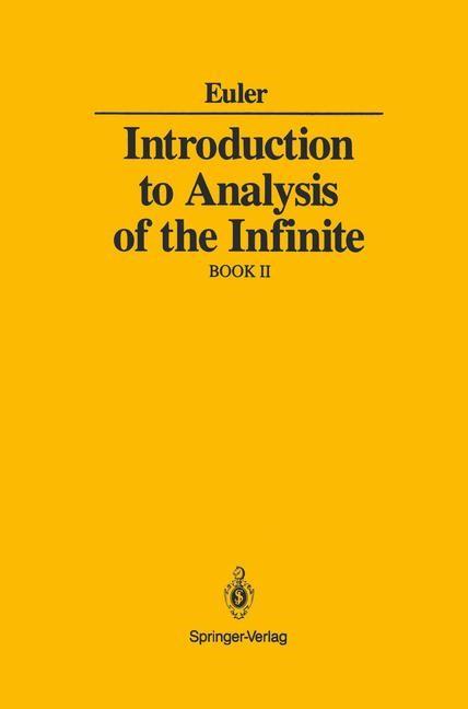 Abbildung von Euler | Introduction to Analysis of the Infinite | 1989