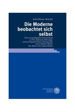 Abbildung von Wilde | Die Moderne beobachtet sich selbst | 2009 | Eine narratologische Untersuch... | 15