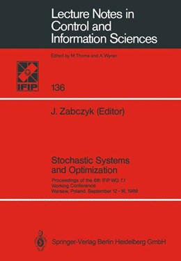 Abbildung von Zabczyk | Stochastic Systems and Optimization | 1989 | Proceedings of the 6th IFIP WG... | 136