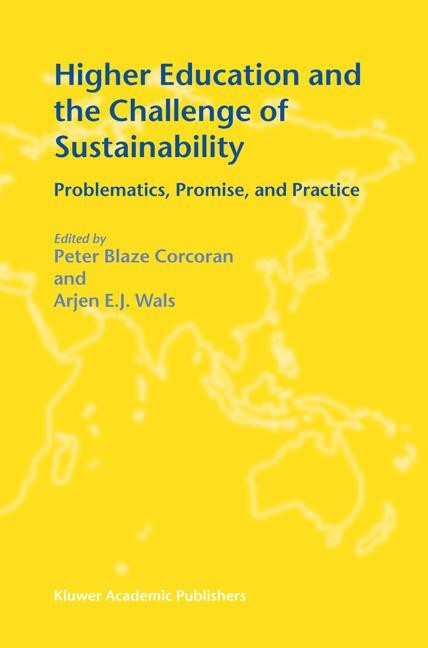 Abbildung von Corcoran / Wals | Higher Education and the Challenge of Sustainability | 2004