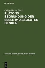 Abbildung von Finck | Platons Begründung der Seele im absoluten Denken | Reprint 2012 | 2007