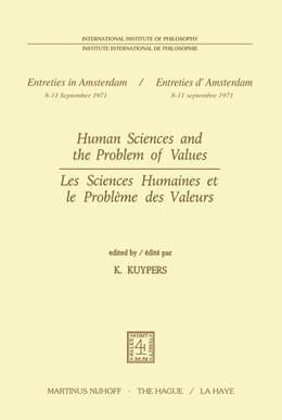 Abbildung von Kuypers | Human Sciences and the Problem of Values / Les Sciences Humaines et le Problème des Valeurs | 1973 | 3