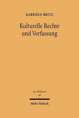 Abbildung von Britz | Kulturelle Rechte und Verfassung | 2000 | 60