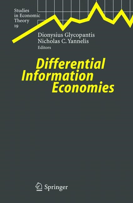 Abbildung von Glycopantis / Yannelis   Differential Information Economies   2004