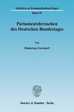 Abbildung von Gersdorf | Parlamentsfernsehen des Deutschen Bundestages. | 2008 | 45