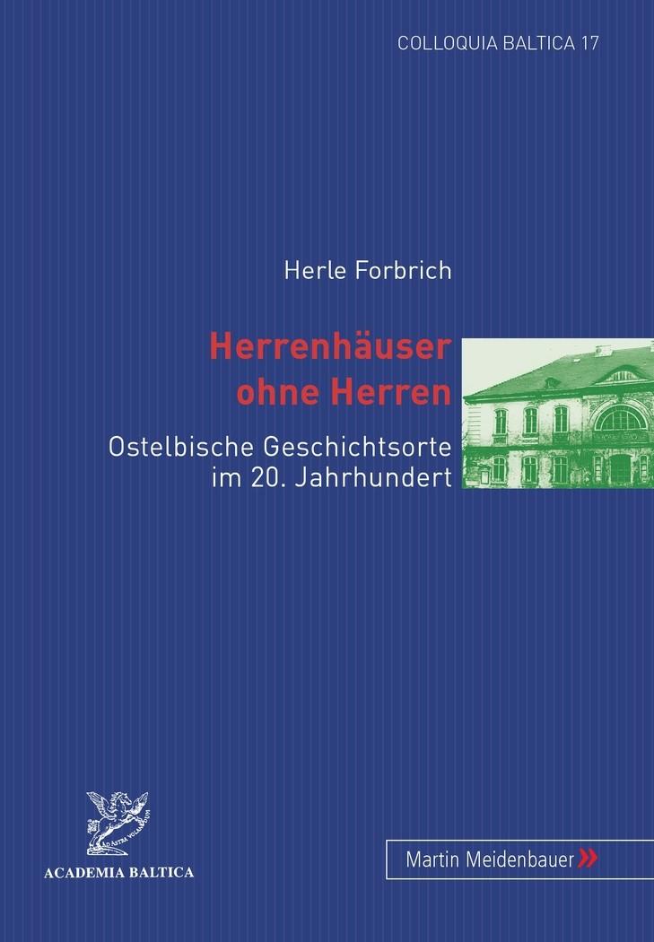 Abbildung von Forbrich | Herrenhäuser ohne Herren | 2008