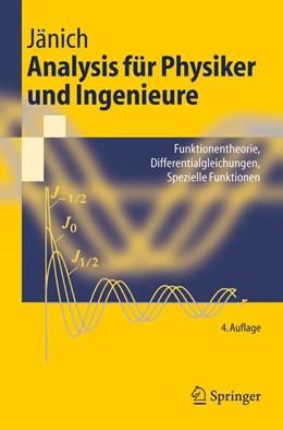 Abbildung von Jänich | Analysis für Physiker und Ingenieure | 4. Aufl. | 2001