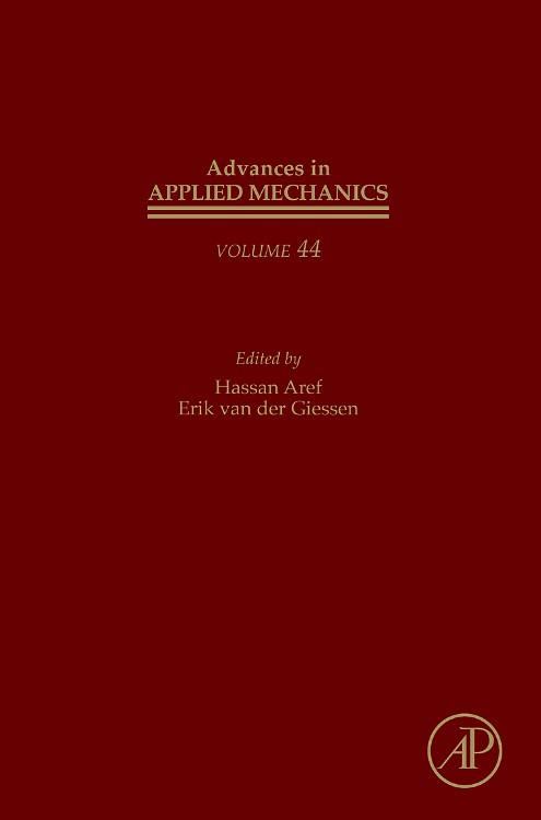 Abbildung von Advances in Applied Mechanics | 2010